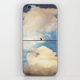 Lone Bird iPhone Skin