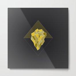 Enchanted Iceberg - Joy Metal Print