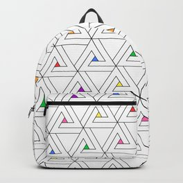 Triangulated Colours Backpack