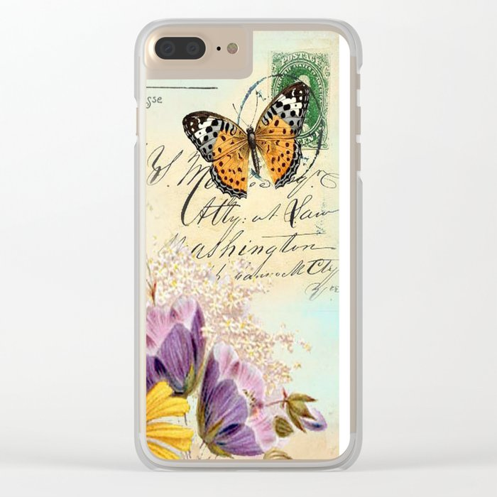 Sweet animal #4 Clear iPhone Case