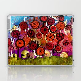Bloomin Chaos Laptop & iPad Skin