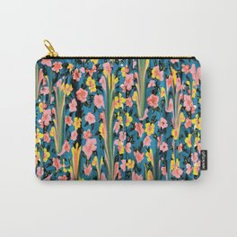 MELTED FLOWERS Carry-All Pouch