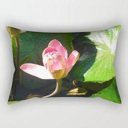 Hanalei Lotus, by Mandy Ramsey, Haines, AK Rectangular Pillow