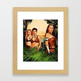 Charmed Valkyries Framed Art Print