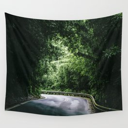 Driving the Hana Highway Wall Tapestry