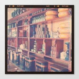 At The Tea Shop Canvas Print