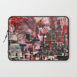 Red Cityscape Laptop Sleeve