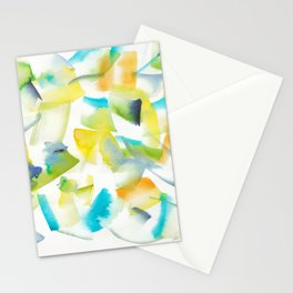 180719 Koh-I-Noor Watercolour Abstract 30| Watercolor Brush Strokes Stationery Cards