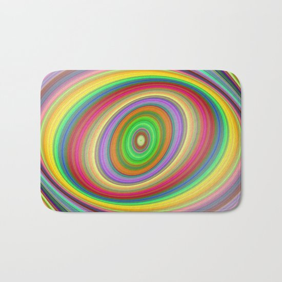 Happy brightness Bath Mat