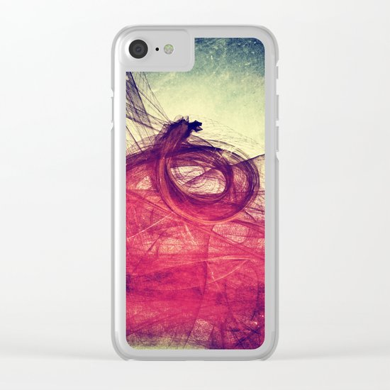 Of Your Own Doing Clear iPhone Case