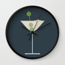 Martini Bianco Wall Clock