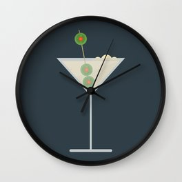 Martini Bianco Wall Clock