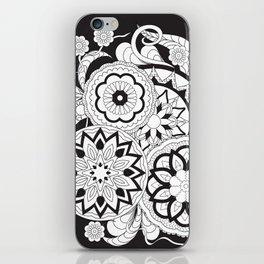 zen-like floral composition 2 iPhone Skin