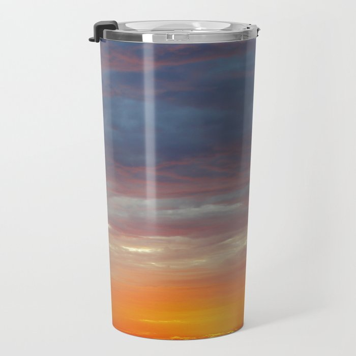 Soft Clouds Travel Mug