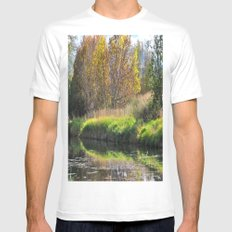 The Pond Mens Fitted Tee White MEDIUM