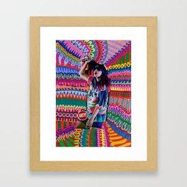 M.I.A Framed Art Print