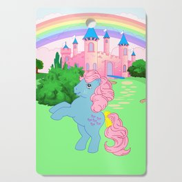g1 my little pony Bowtie at Dream Castle Cutting Board