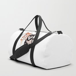 Two Shiba Inu with Bandana Duffle Bag