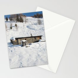 Mountain old house 2 Stationery Cards