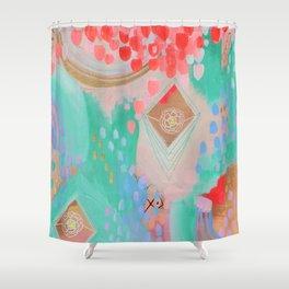 Floral Ascension Shower Curtain