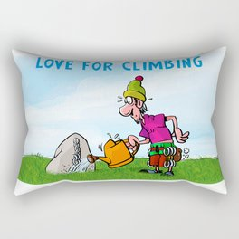 Love for Climbing Rectangular Pillow