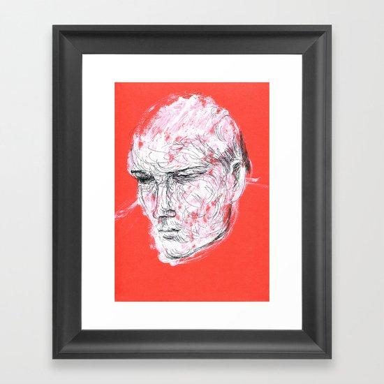Dmitriy's head Framed Art Print