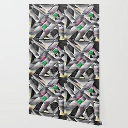 Emeralds in Industrial Design Wallpaper