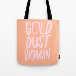 Gold Dust Woman Tote Bag