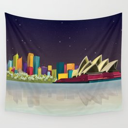 City Sydney Wall Tapestry