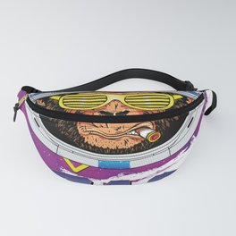 Space Monkey 1980s Fanny Pack