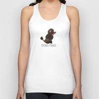 poodle Tank Tops featuring Poodle by 52 Dogs