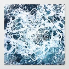 Ocean Mandala - My Wild Heart Canvas Print