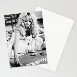 Brigitte Bardot Playing Cards Stationery Cards