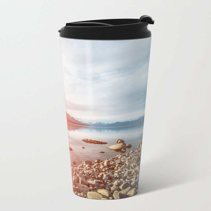 Sunset Landscape #photography Metal Travel Mug