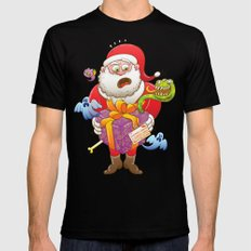 A Christmas Gift from Halloween Creepies to Santa Mens Fitted Tee Black MEDIUM