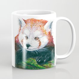 Red panda bear Coffee Mug