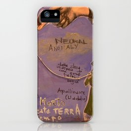 NEURAL ANOMALY iPhone Case