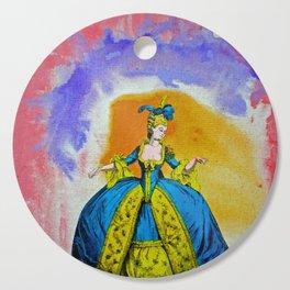 Marie Antoinette by Michael Moffa Cutting Board