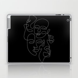 Night Crowd Laptop & iPad Skin