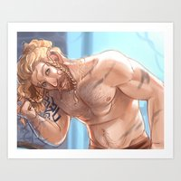 fili Art Prints featuring Forge Fili by Faerytale-Wings