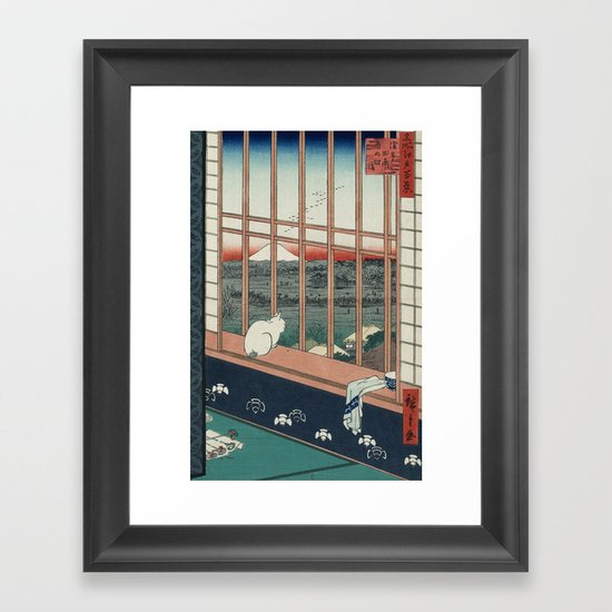 Asakusa Rice Fields, Hiroshige by fineartprints