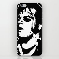 rocky horror iPhone & iPod Skins featuring Eddie (Rocky Horror Picture Show) by ACHE