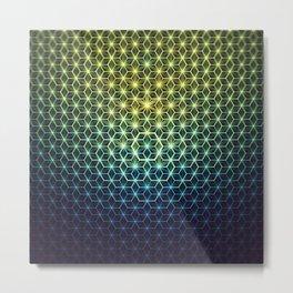 Asanoha 03 Metal Print