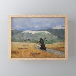 Pesta - a painting of the Plague Framed Mini Art Print