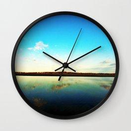 Lake L'Homme Dieu Wall Clock