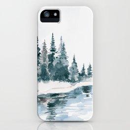 Mountain River iPhone Case