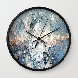Snow angel Wall Clock