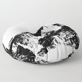 Mountains I Floor Pillow