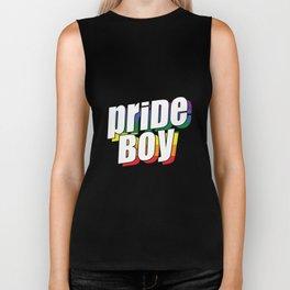 Pride Boy | LGBTQ Rainbow Gay Gift Ideas Biker Tank