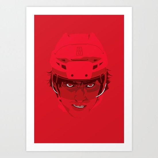 Ovechkin Superhero Art Print